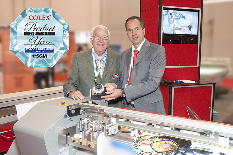 Fotoba/Colex win SGIA 2010 Product of the Year