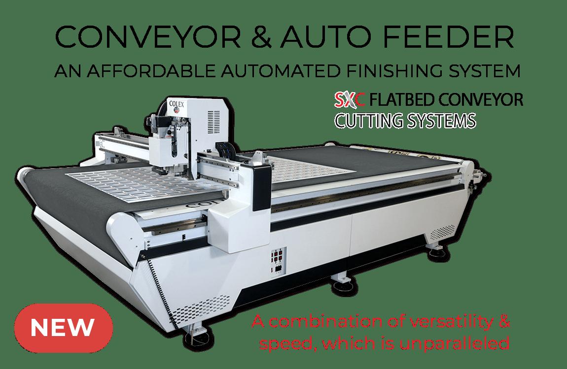 New Sharpcut Pro Conveyor Flatbed